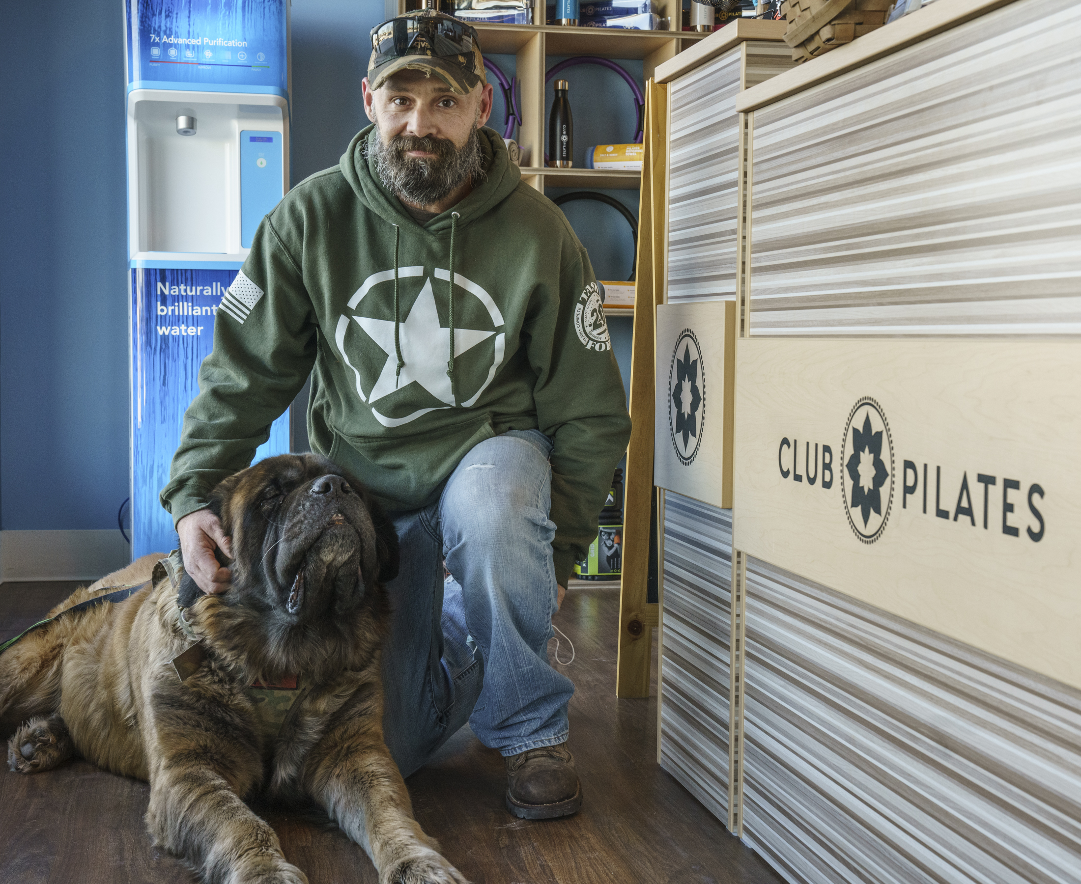 This Veteran and His Pup Are Club Pilates Members - Read Their Story