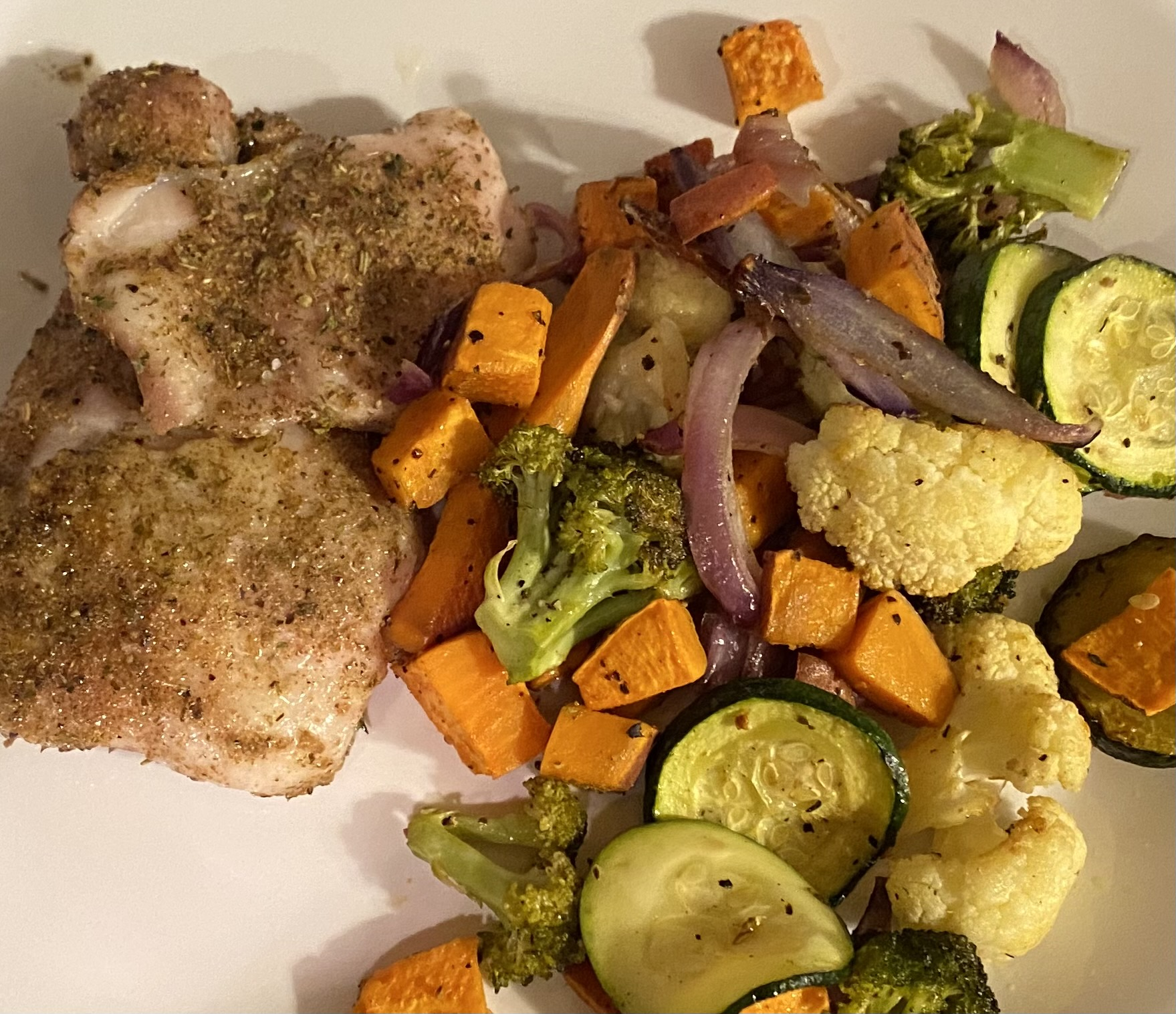 Cooking COREner with Club Pilates - Easy Chicken and Veggie Sheet Pan Dinner