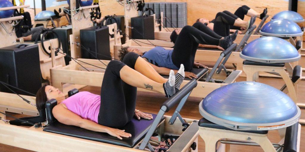 Pilates Warmup: Footwork