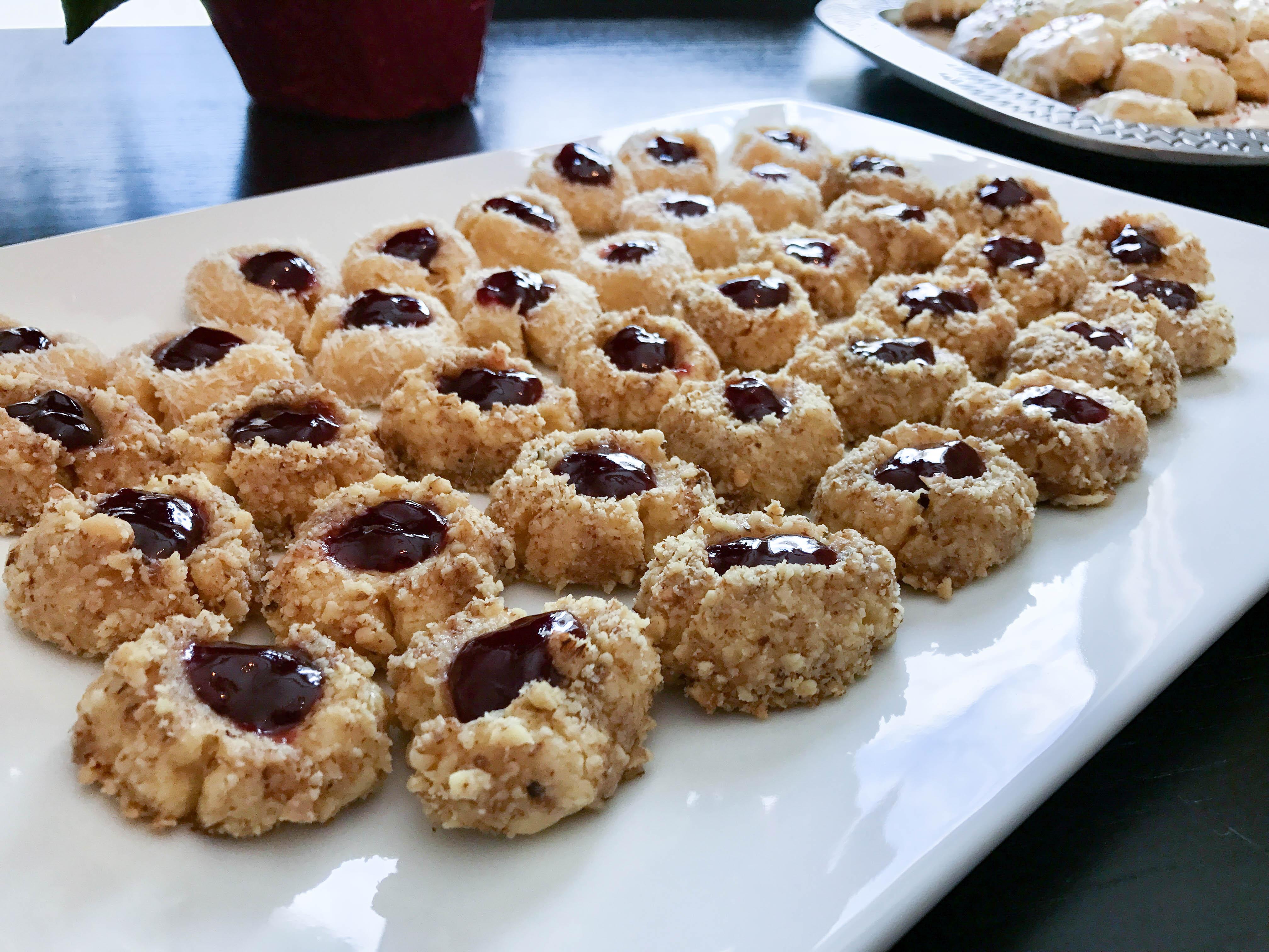 Cooking COREner with Club Pilates - Raspberry Walnut Italian Thumbprints