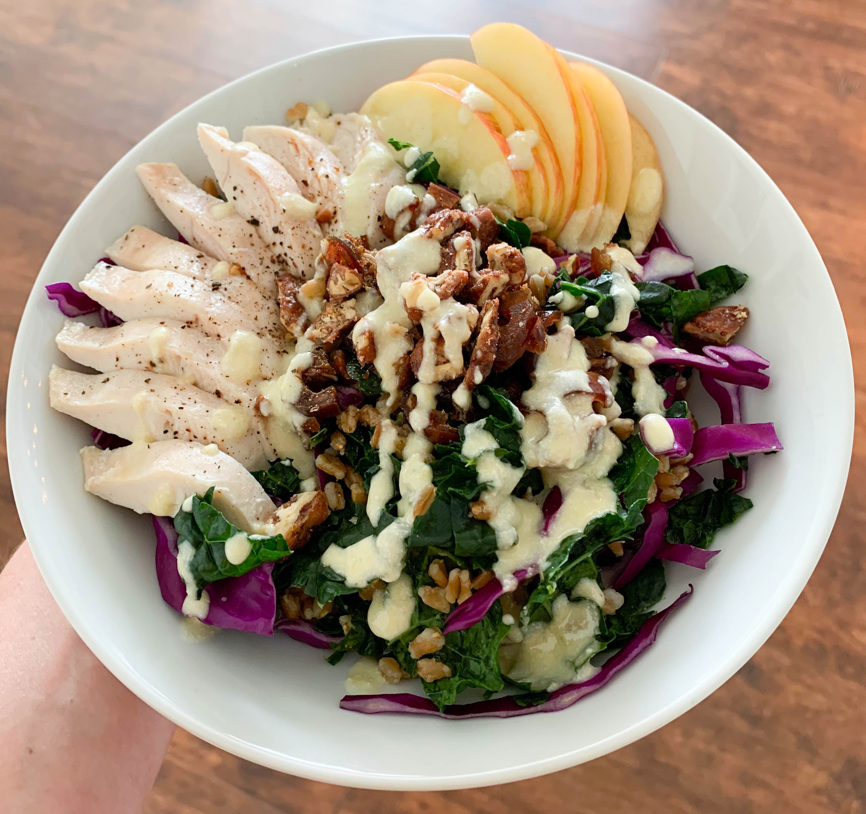 Cooking COREner with Club Pilates - Kale & Cabbage Crunch Salad